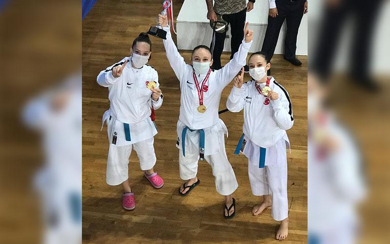 Kareteci kızlar, Türkiye şampiyonu oldu