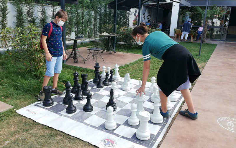 Satranççılar ortak etkinlikte buluştu