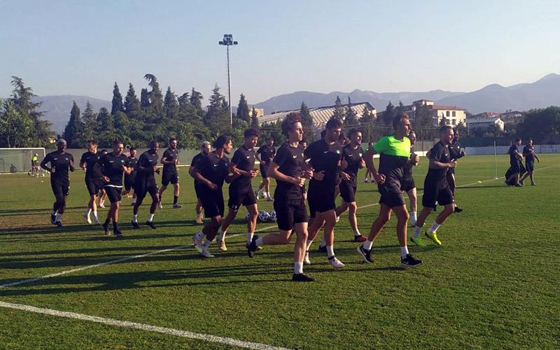 Denizlispor yeni sezon hazırlıklarını sürdürdü