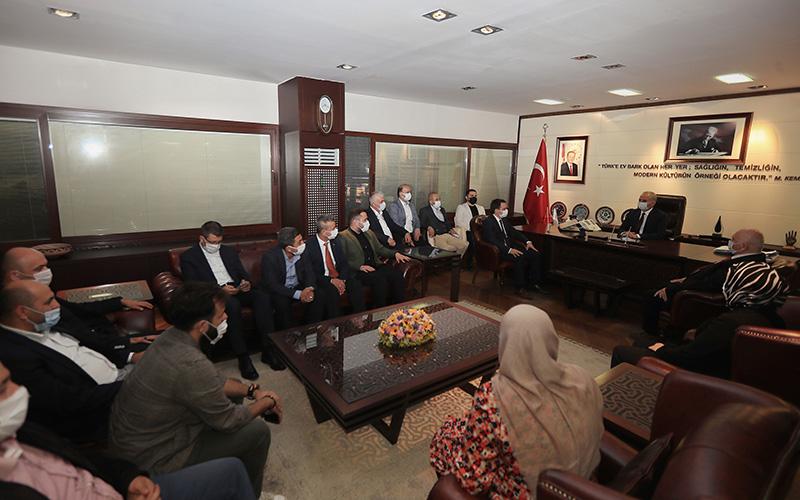 AK Parti Merkezefendi İlçe Yönetimi, Zolan'ı ziyaret etti