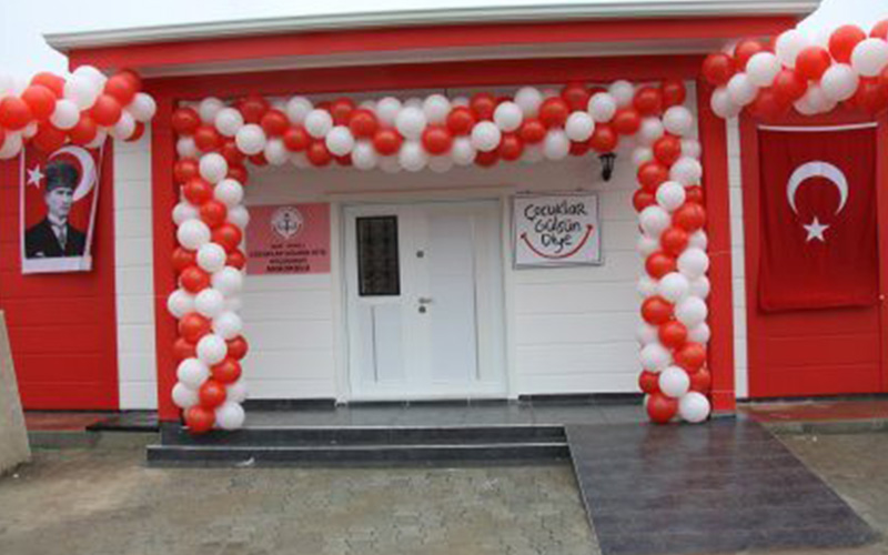 Gülben Ergen'li törenle anaokulu açılışı yapılacak