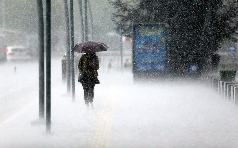 Meteorolojiden kuvvetli sağanak yağış uyarısı