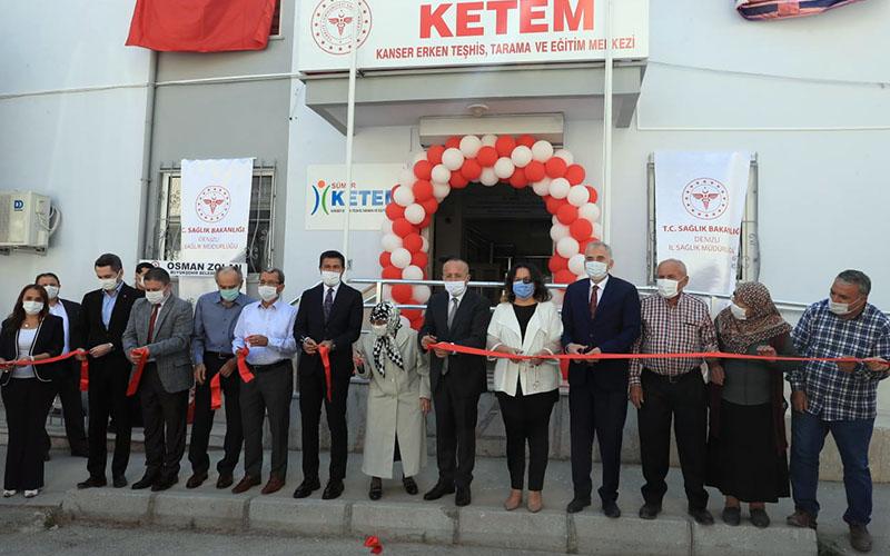 3. KETEM Sümer'de hizmete açıldı