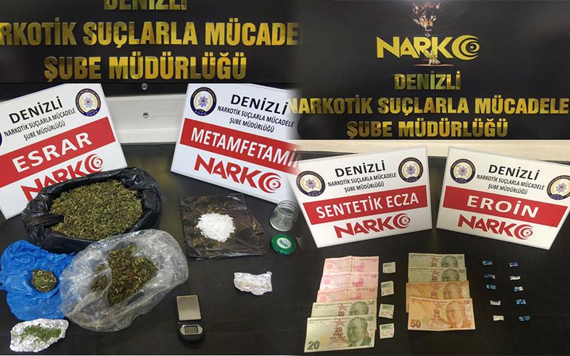 Polisten uyuşturucu operasyonu: 9  tutuklama