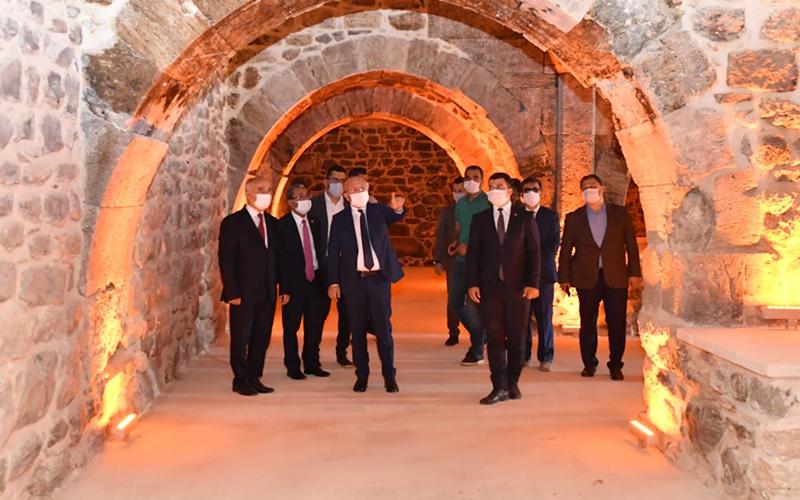 Vali Atik, Çardak ve Bozkurt'ta incelemelerde bulundu