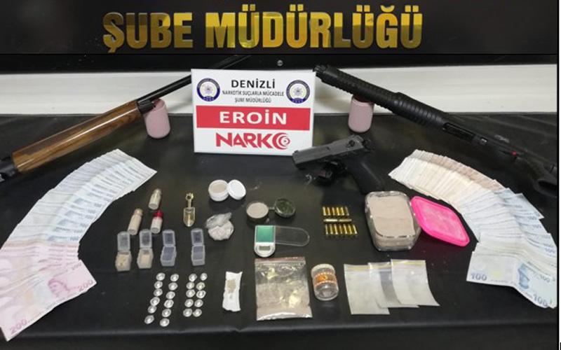 Polisin operasyonunda 17 zehir taciri yakalandı