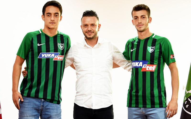 Denizlispor, altyapıdan Burak ve Emirhan ile profesyonel sözleşme imzaladı