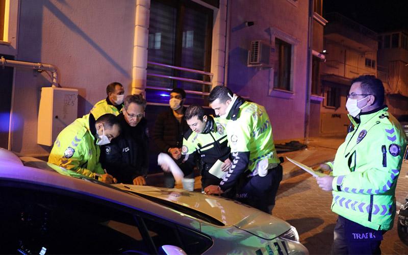 Sokağa çıkma yasağına uymayıp polisten kaçan kişiye ceza