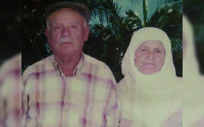 70 yıllık eşinin acısına 1 gün dayanabildi