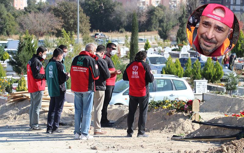 İzmir depreminde arama kurtarmaya katılan İHH gönüllüsü, hayatını kaybetti