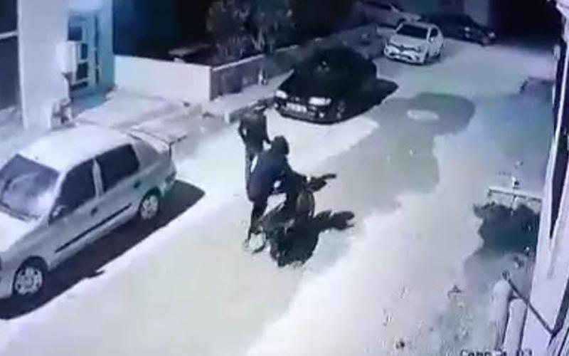Güvenlik kamerası hırsızlığı kaydetti, faili aranıyor
