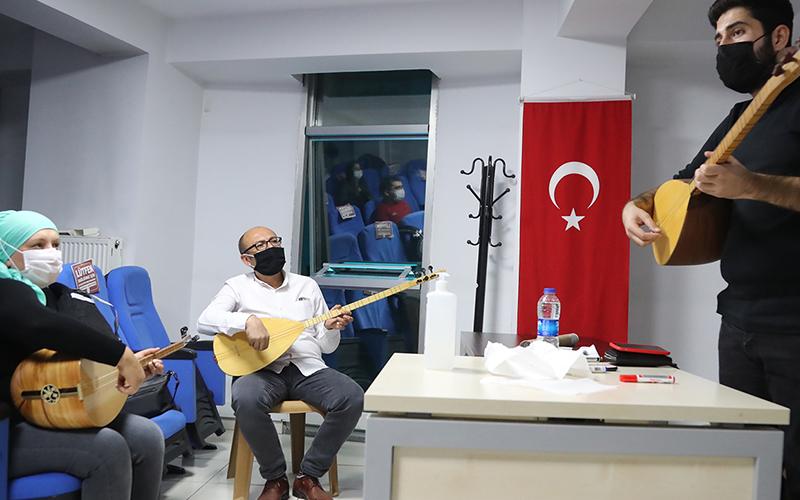 Pamukkale Belediyesinin kursları pandemi nedeniyle durduruldu