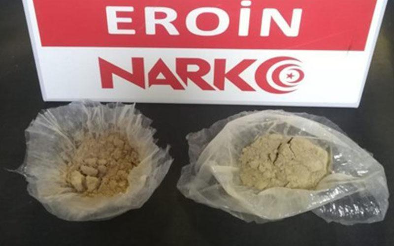Denizli'ye uyuşturucu getiren 2 zehir taciri yakalandı