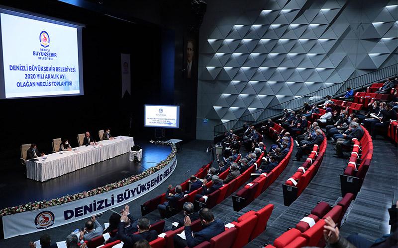 Büyükşehir Belediye Meclisi 2020'nin son toplantısını yaptı