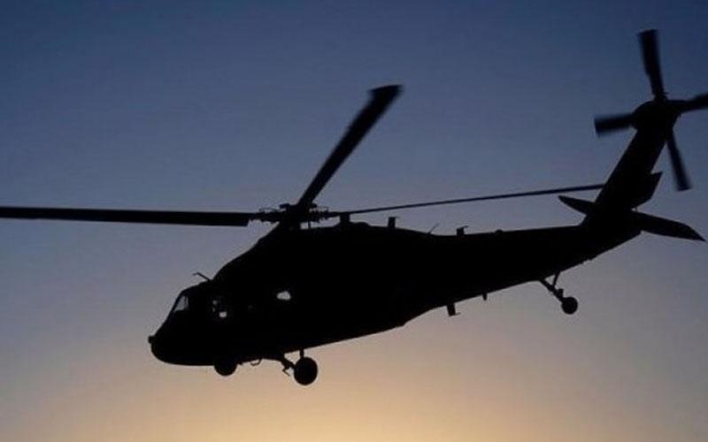 Helikopter uçuşu heyecan yarattı