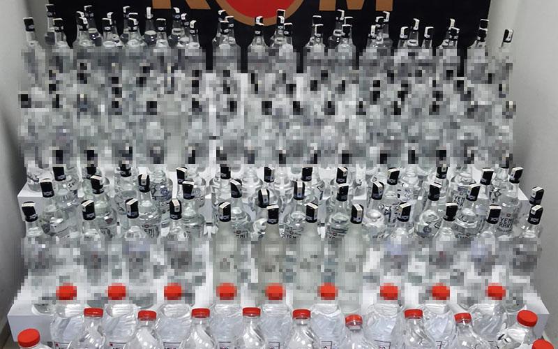Yılbaşı öncesi sahte içkiler ele geçirildi
