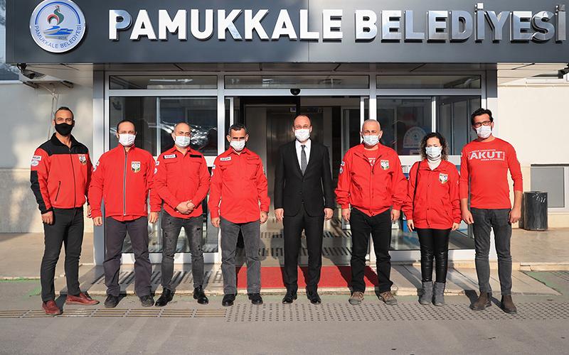 Örki: Pamukkale Belediyesi Arama Kurtarma Timi oluşturuldu