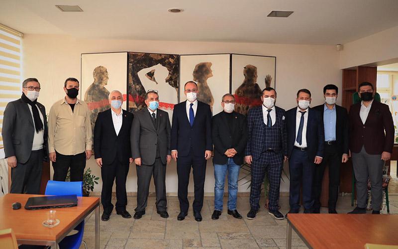 Örki'den DGC'ye ziyaret