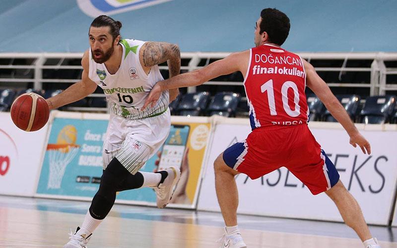 Denizli Basket, Finalspor'u 74-57 yendi