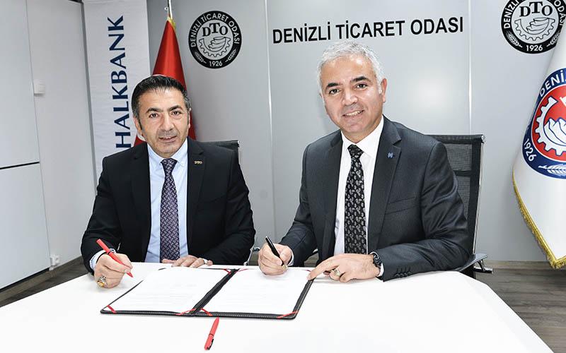 DTO ile Halk Bankası arasında tedarik zinciri protokolü imzalandı