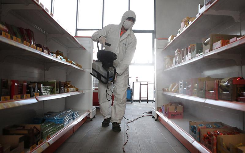 Büyükşehir'den 19 ilçede dezenfekte çalışması