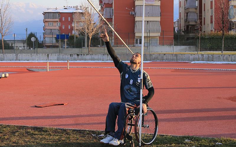 Pamukkale Belediyesporlu Fadi, Filistin Milli Takımı ile olimpiyatta yarışacak