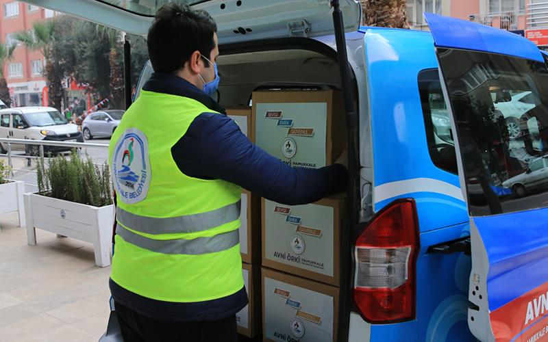 Pamukkale Belediyesi Sosyal Market'ten 30 bin aile faydalandı