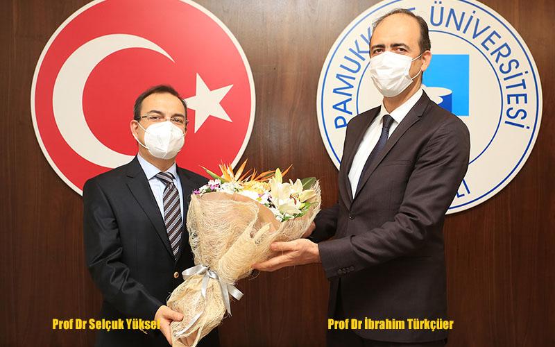 PAÜ Hastanesi Başhekimliğine Prof Dr Selçuk Yüksel atandı