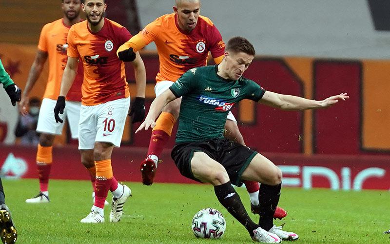 Denizlispor, Galatasaray'dan yarım düzine gol yedi: 6-1