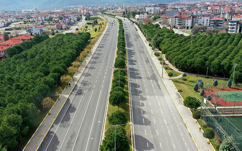 Ali Marım Bulvarı'nda asfaltlama ve kavşak düzenlemesi tamamlandı