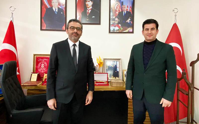 AK Parti Denizli İl Başkanı Güngör, MHP'yi ziyaret etti