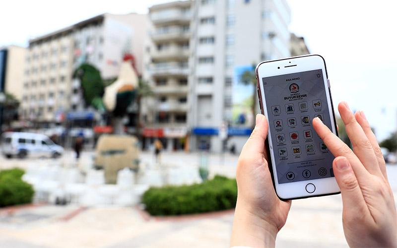 Büyükşehir Belediyesinin akıllı şehir uygulamaları 46'ya yükseldi