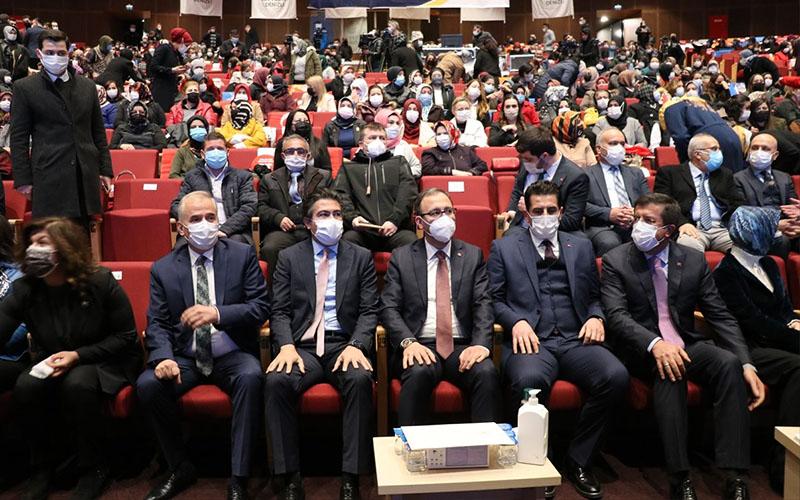 AK Parti Denizli İl Kadın Kolları Kongresi yapıldı