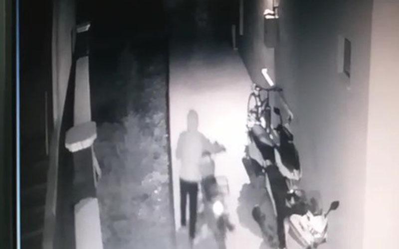 Hayırsız evlat 4 gün arayla babasının otomobil ve motosikletini çaldı