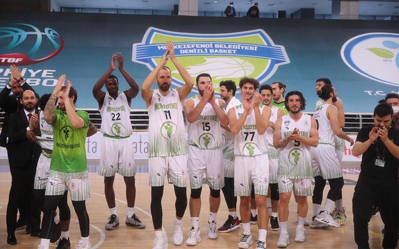 Denizli Basket, Mamak Belediyesi'ni 77-63 yendi