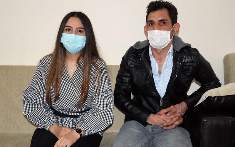 İki kardeş coronavirüsü yenip sağlıklarına kavuştu