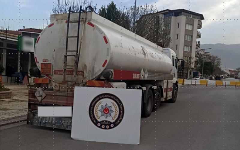 Denizli'de 23 bin 544 litre kaçak akaryakıt ele geçirildi