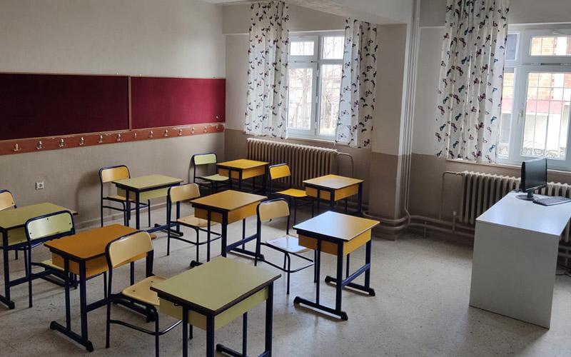 Denizli'de yüz yüze eğitim 15 bin öğrenciyle başlayacak