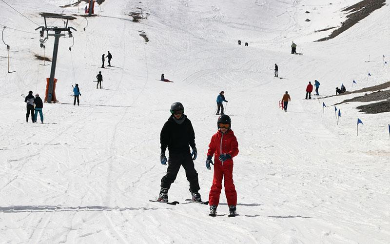 Denizli Kayak Merkezi 100 bin kişiyi ağırladı