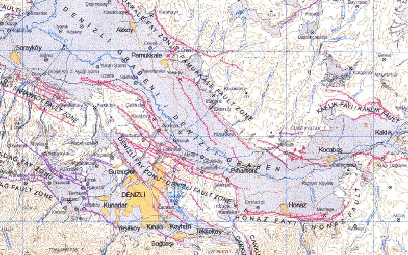 Jeoloji Mühendisleri Odasından Fay Üzerinde Yaşayan Kentlerimiz: Denizli Raporu