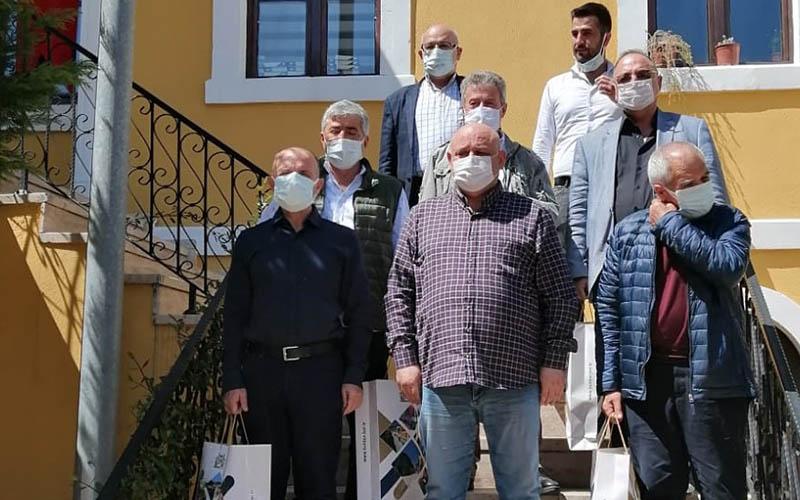 PASVAK yönetiminden Buldan Belediye Başkanı Şevik'e ziyaret