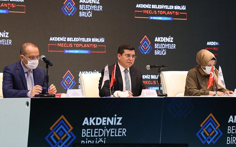 Örki, Akdeniz Belediyeler Birliği Encümenine seçildi