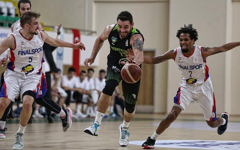 Denizli Basket, deplasmanda Finalspor'u 77-66 yendi