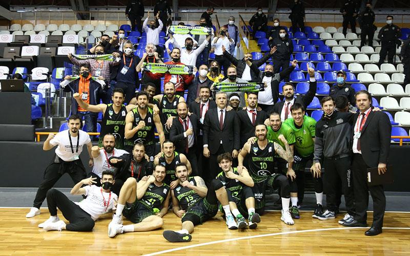 Denizli Basket, Balıkesir engelini 85-81 ile geçti