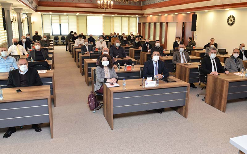 DTO Meclisi 1 yıl aradan sonra yüz yüze toplandı