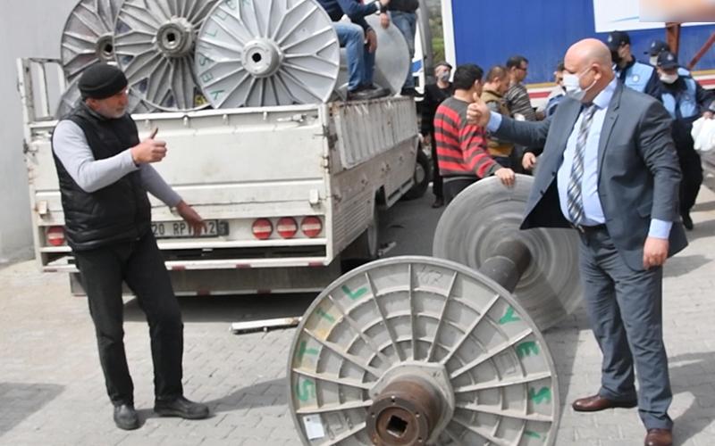 Şevik'ten esnaf ziyaretleri
