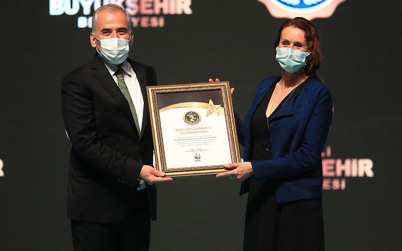 Büyükşehir Belediyesi, WWF'in yarışmasında dünya 2'ncisi