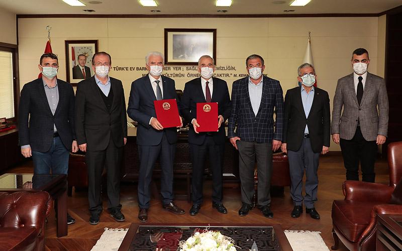Büyükşehir ile Denizli Ticaret Borsası arasında işbirliği protokolü