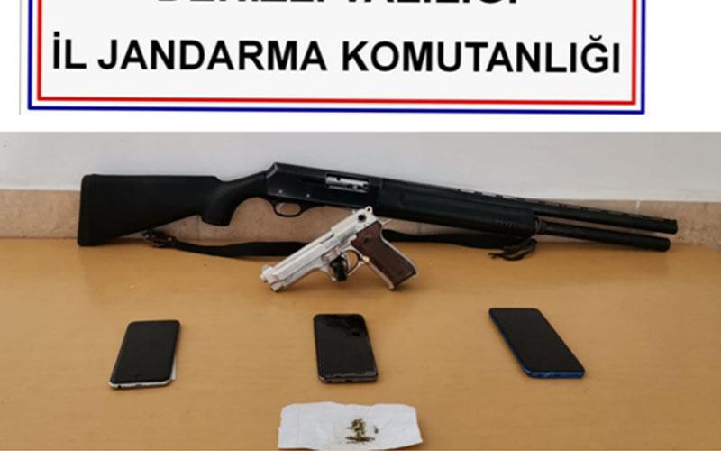 Jandarmadan uyuşturucu tacirlerine operasyon: 2 tutuklama