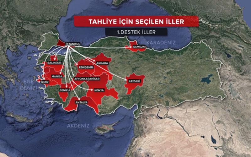 İstanbul depremi için büyük hazırlık planında Denizli de var